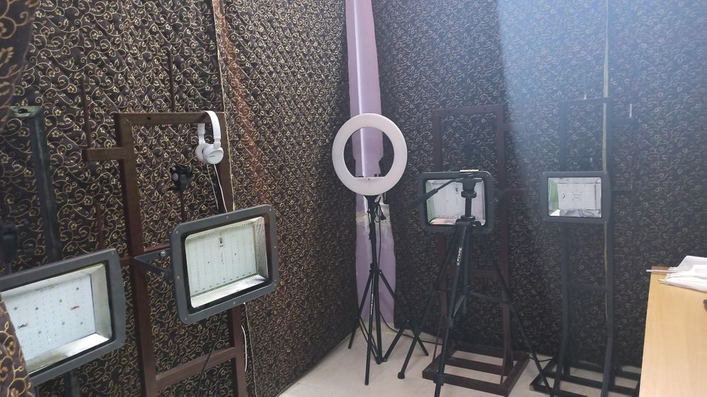 The Lighting Setup